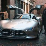 蝙蝠俠新車!平治AMG Vision GT