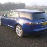 全球首部Tesla Model S旅行車